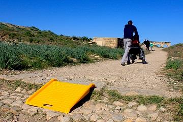 portable ramp at volubilis
