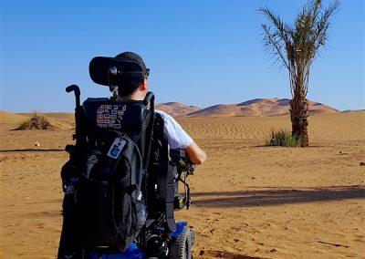 Desert Power Wheelchair