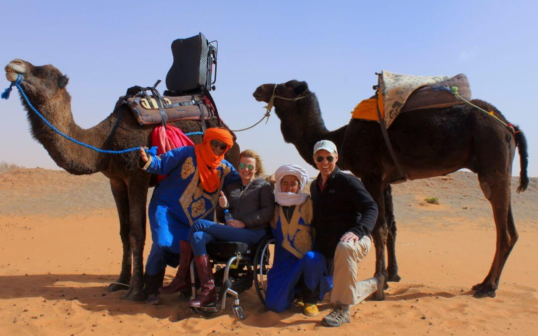 Can someone in a wheelchair travel to Morocco?