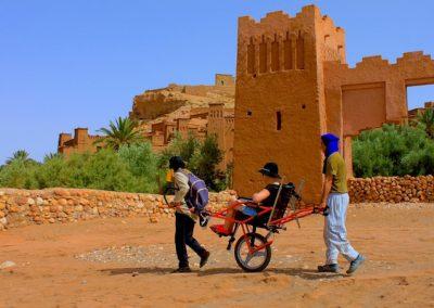 Ait Ben Haddou Joelette Trekking Wheelchair
