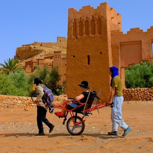 Joelette Trekking Wheelchair Tour Ait Ben Haddou