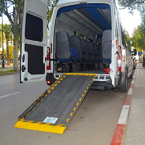Fully Accessible Renault Master with QStraint System