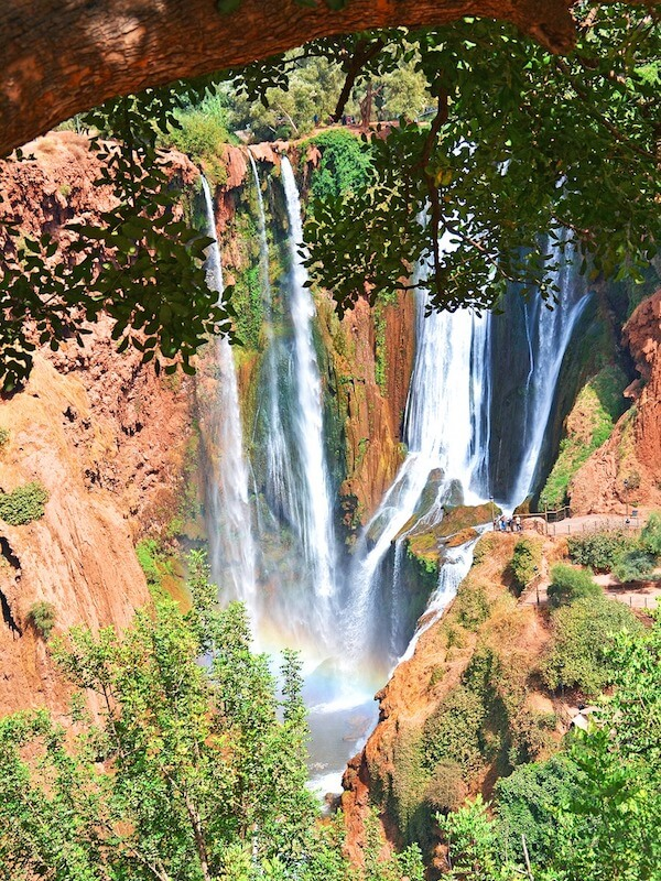 Ouzoud Falls in Southern Morocco