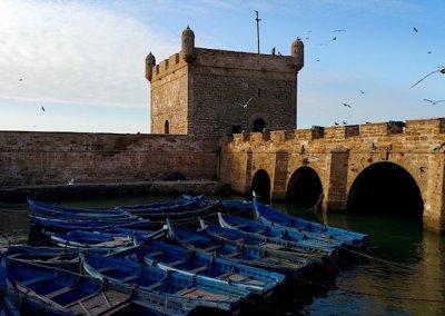 Essaouira Morocco Boats and Ramparts